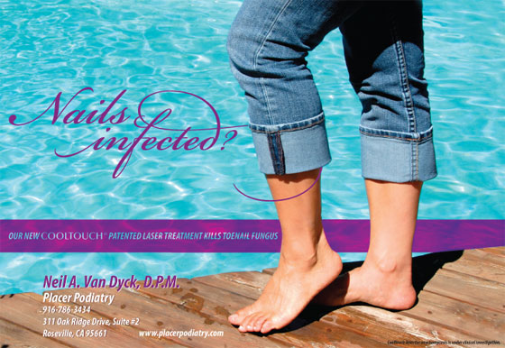 Placer Podiatry Ad