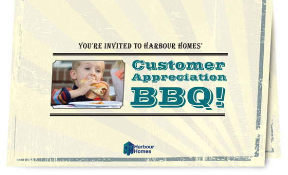 Harbour Homes BBQ Invite