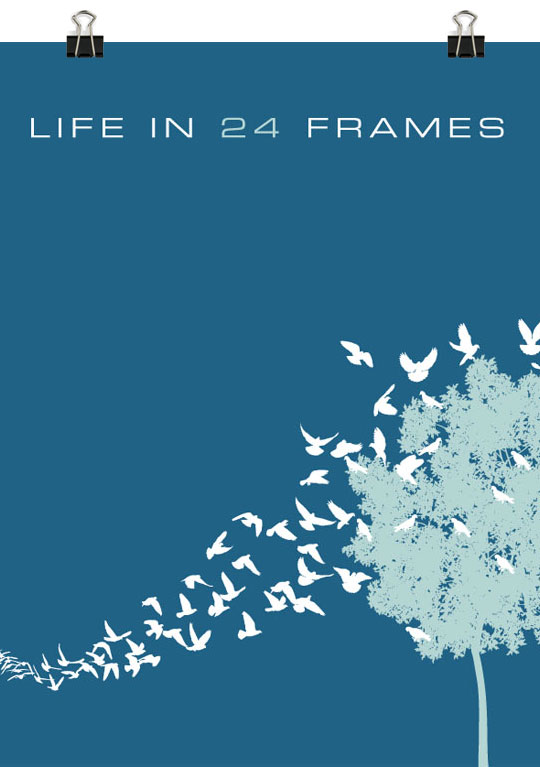 Life In 24 Frames Time Trails Poster