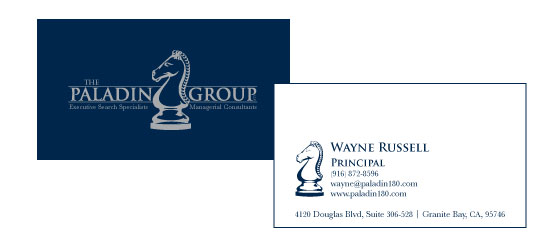 The Paladin Group Business Card