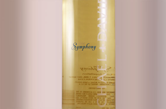 Symphony Wine Label Design